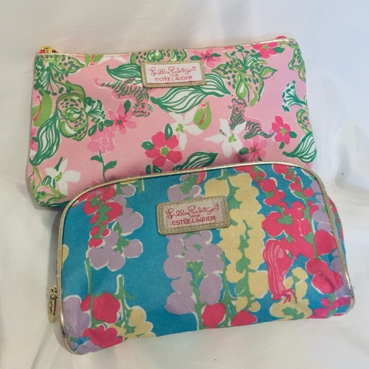 2 for 1 price -Lilly Pulitzer makeup bag