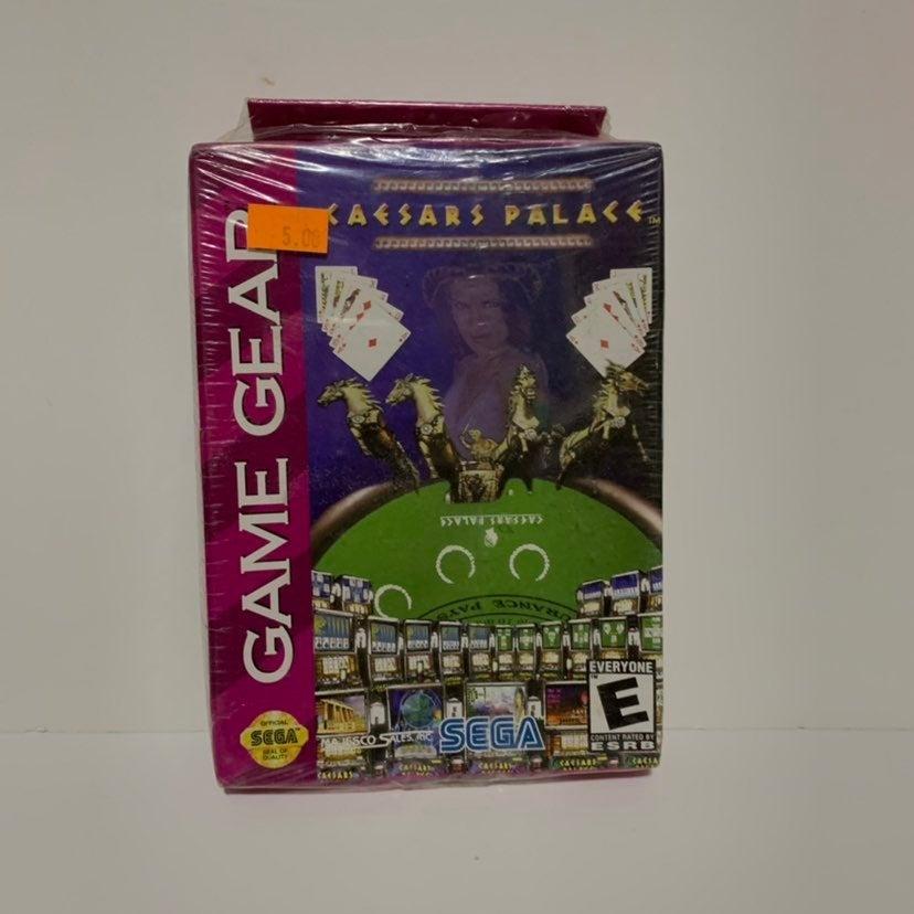 Caesar's Palace Sega Game Gear (SEALED)