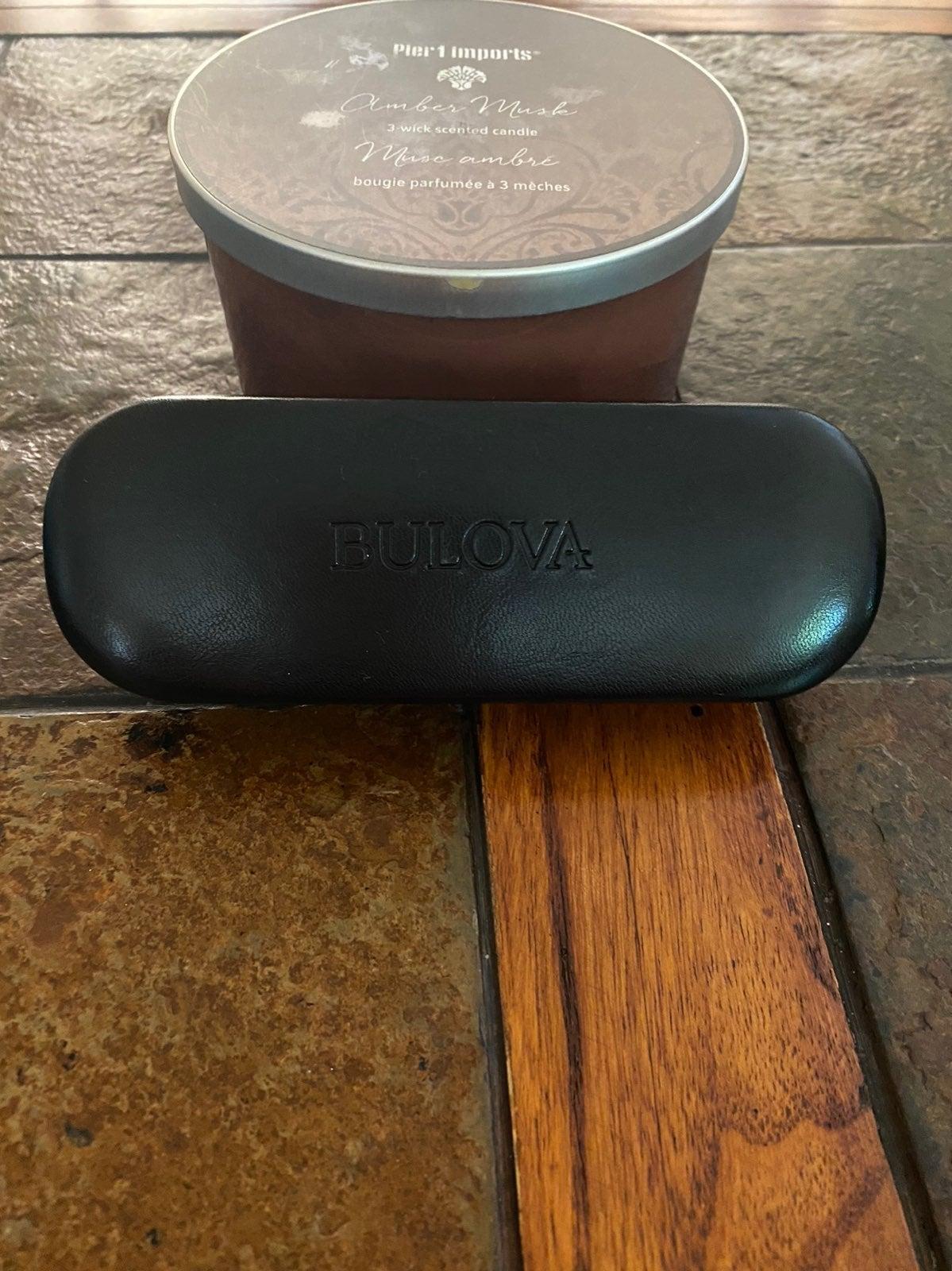 Bulova glass holder case