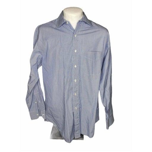 Paul Stuart Men Large 16/34  Dress Shirt