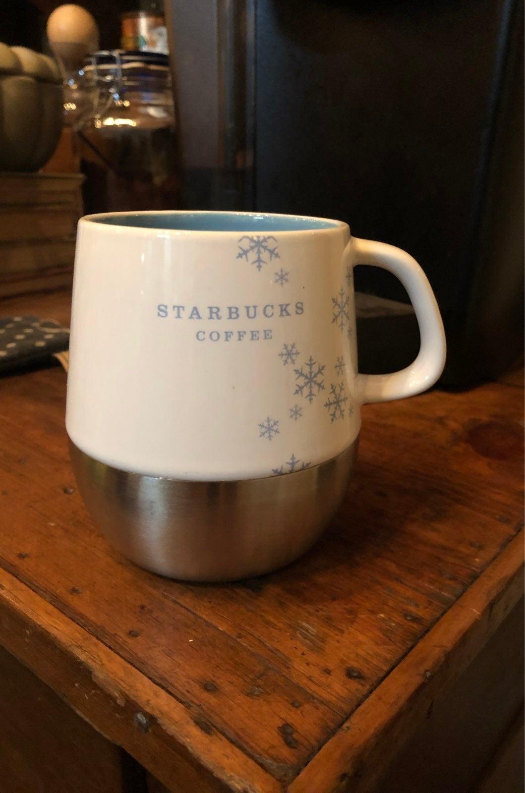 Holiday 2007 Starbucks Coffee Cup Mug