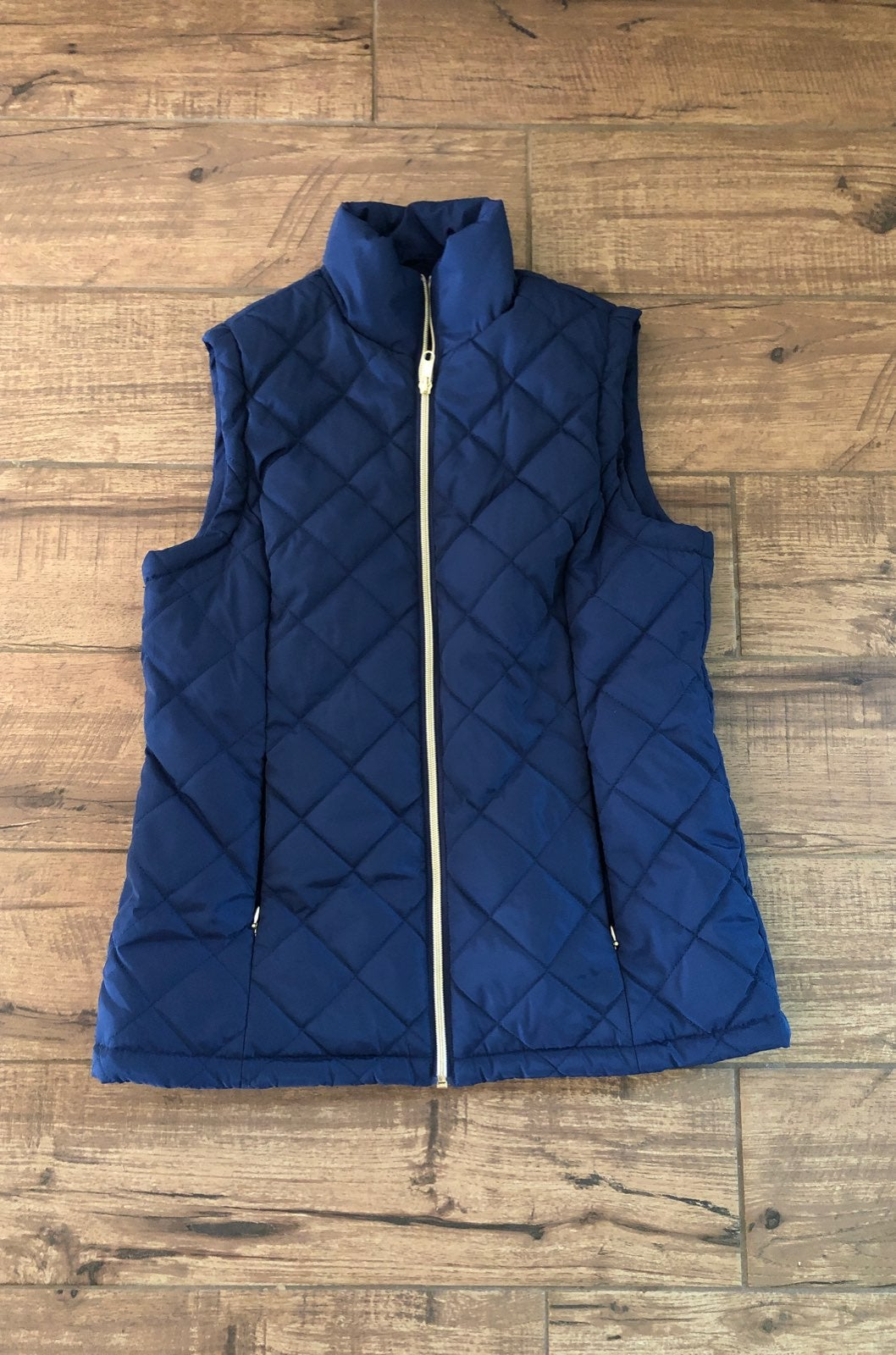 Bright Navy Blue Vest Women's Small