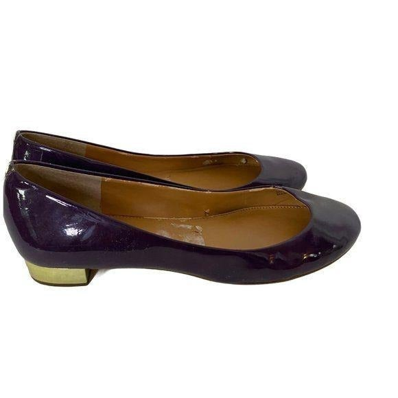 J. CREW Janey Patent Leather Loafers Size