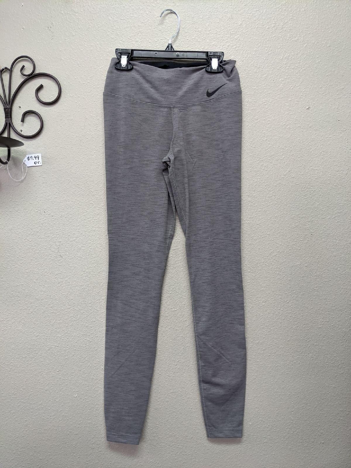 NIKE Grey Leggings Yoga Pants