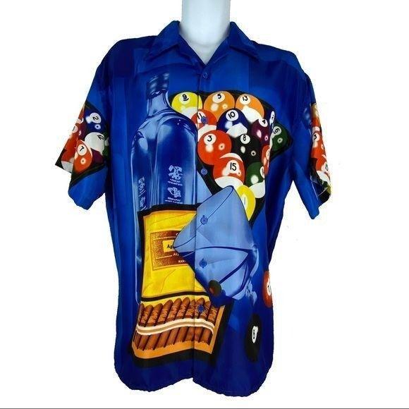 Ferugini Blue Pool Shooting Shirt XL