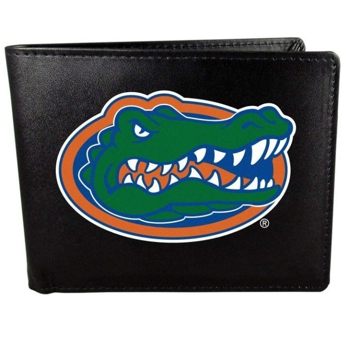 NCAA Florida Gators Bi-Fold Wallet with Logo
