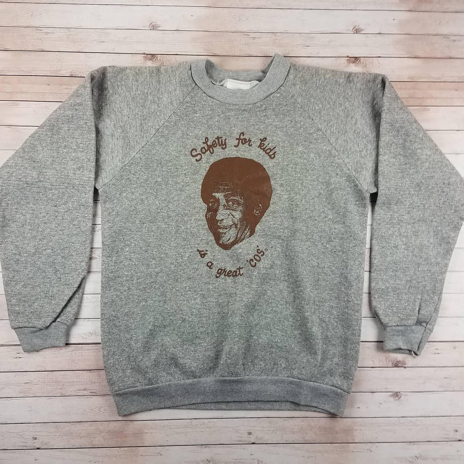 VTG 80s Bill Cosby Healthknit Sweatshirt