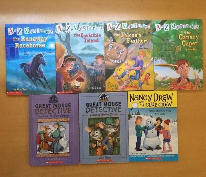 Mystery Books for Children - 7 books