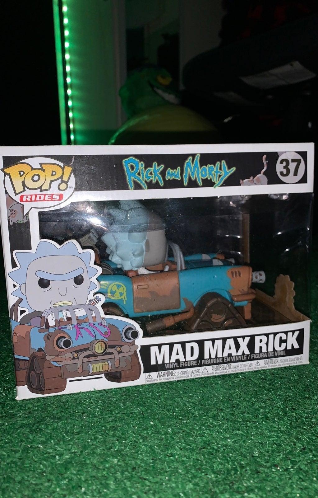Funko Pop Mad Max Rick NEW
