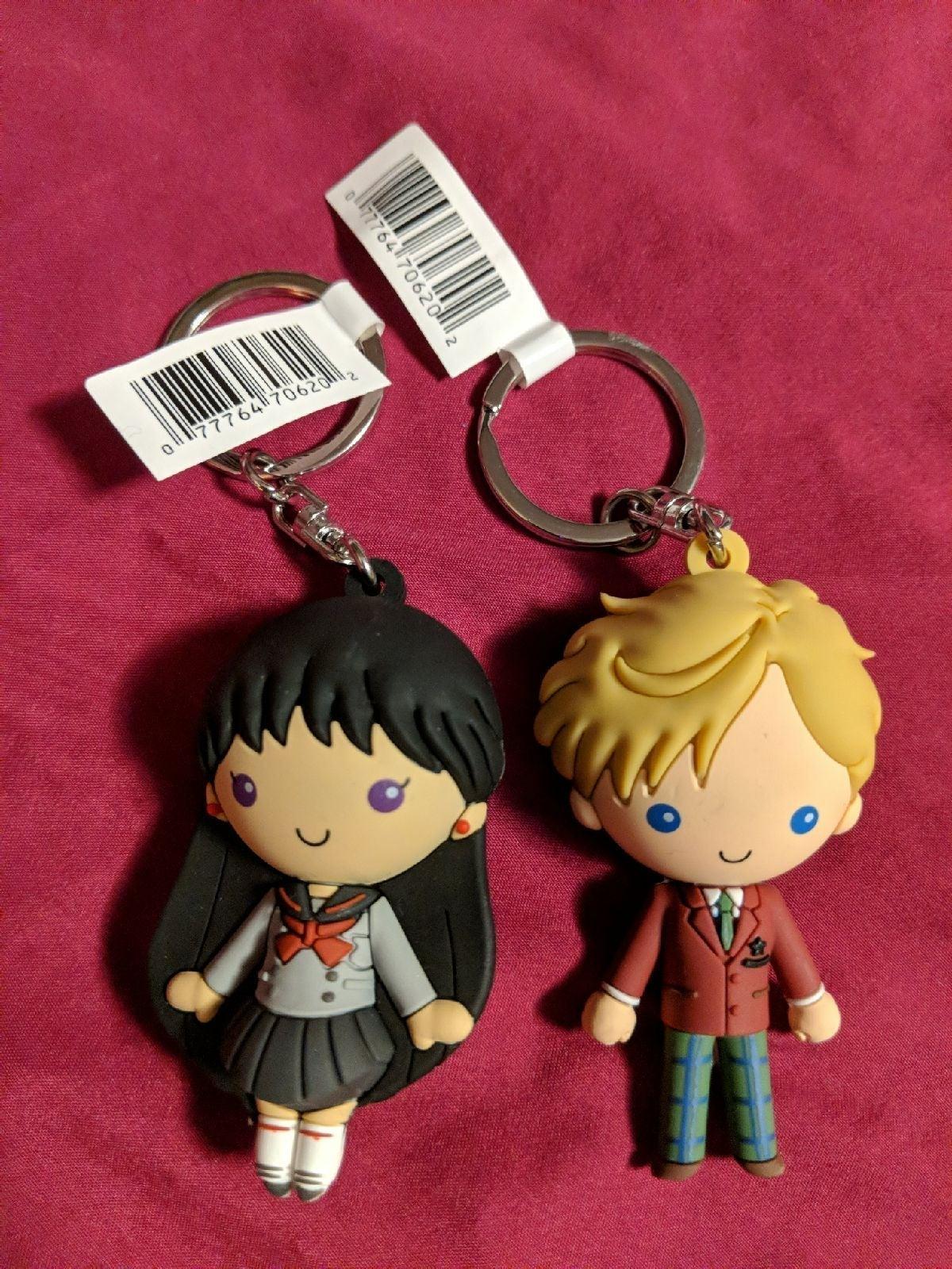 Rei Hino / Haruka Tenoh Figural Keychain