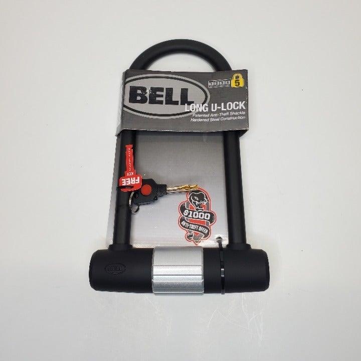 Bell Long Shackle U-Lock with Keys