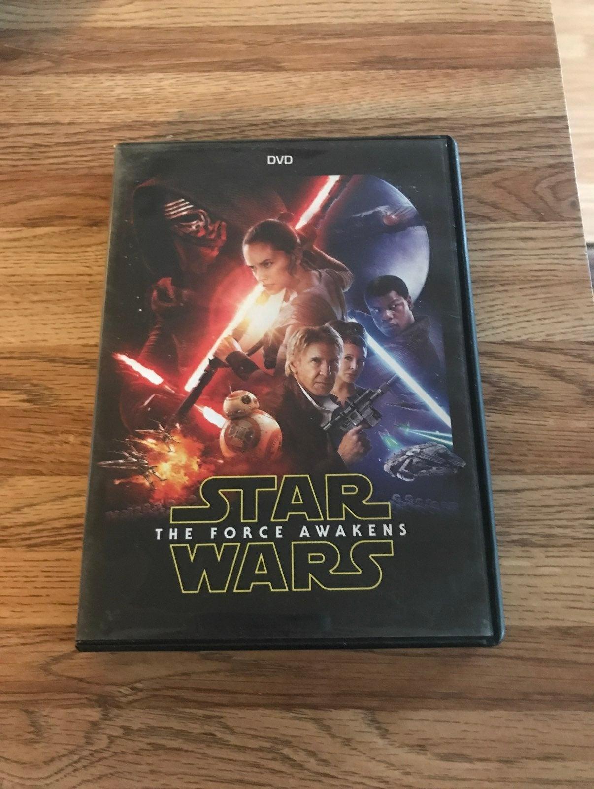 star wars the force awakens dvd movie