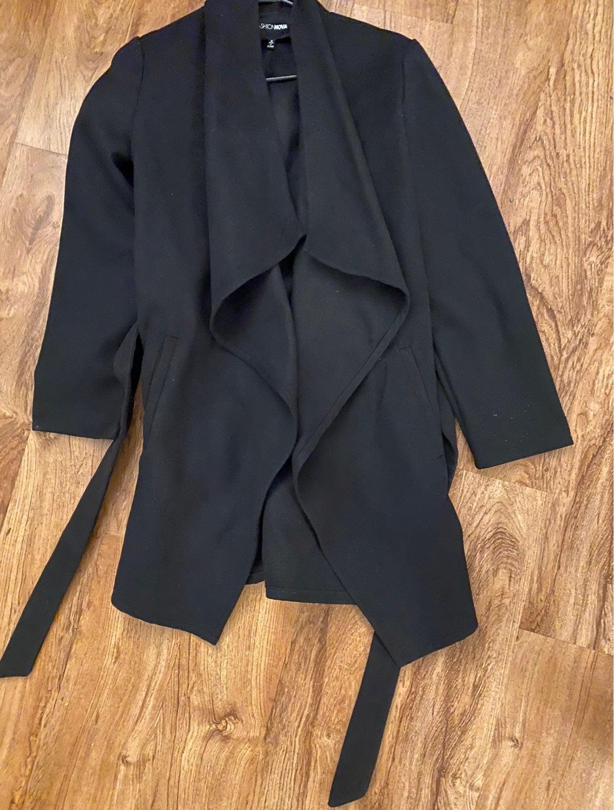 Black Duster Jacket