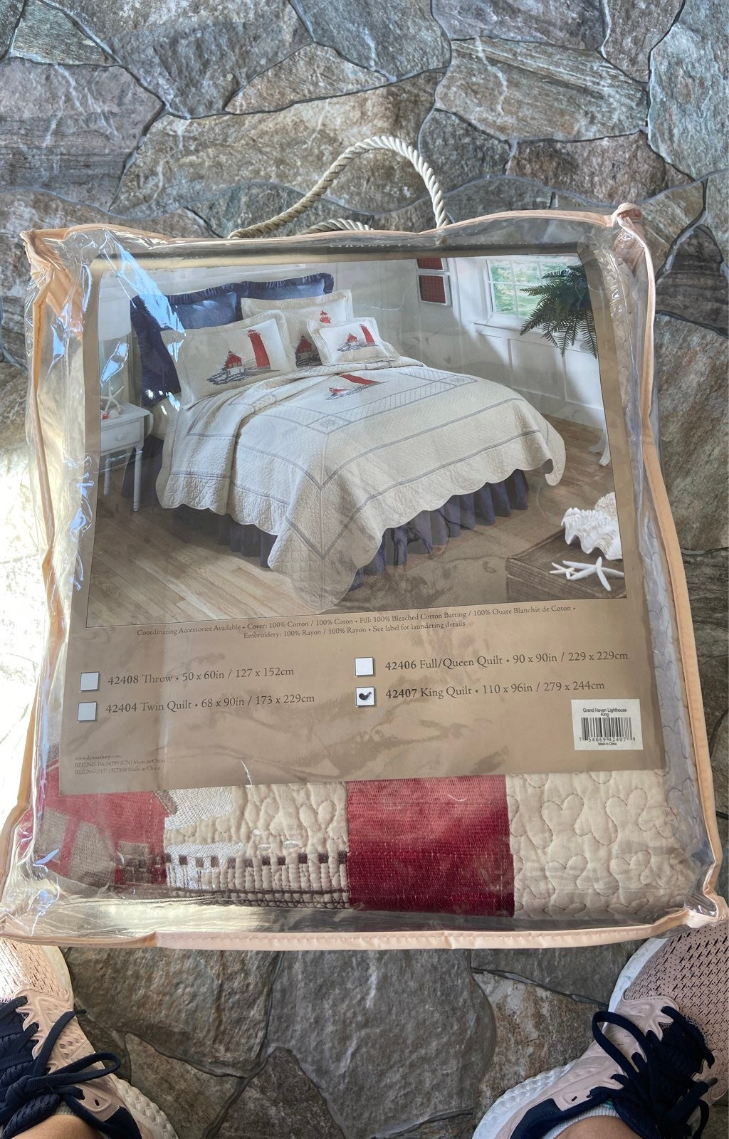 Donna Sharp Grand Haven Lighthouse quilt