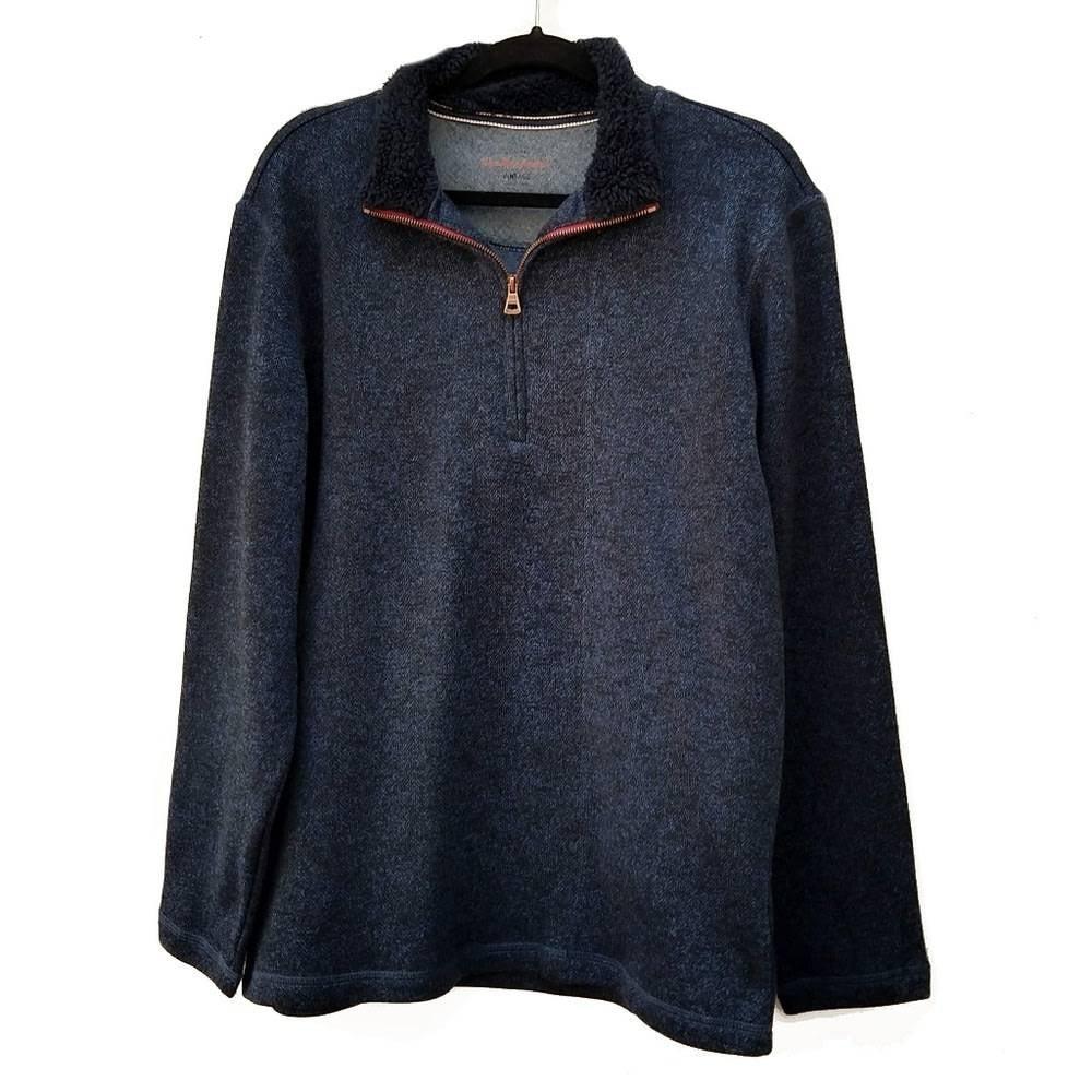 Weatherproof Vintage Fleece Pullover Lg