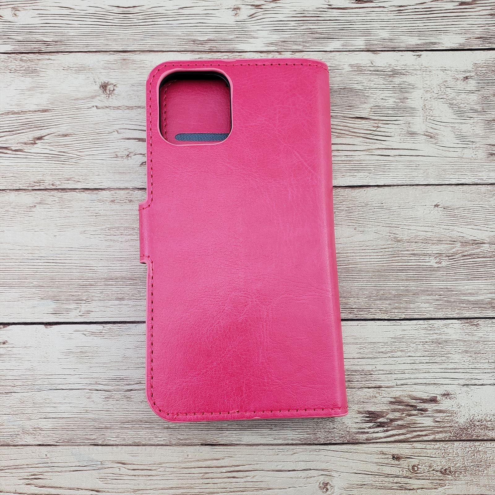 iPhone 12 Pink Wallet Case