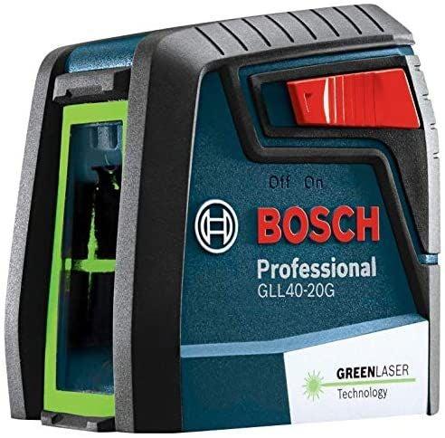 BRAND NEW  BOSCH GLL40-20G Green-Beam Se