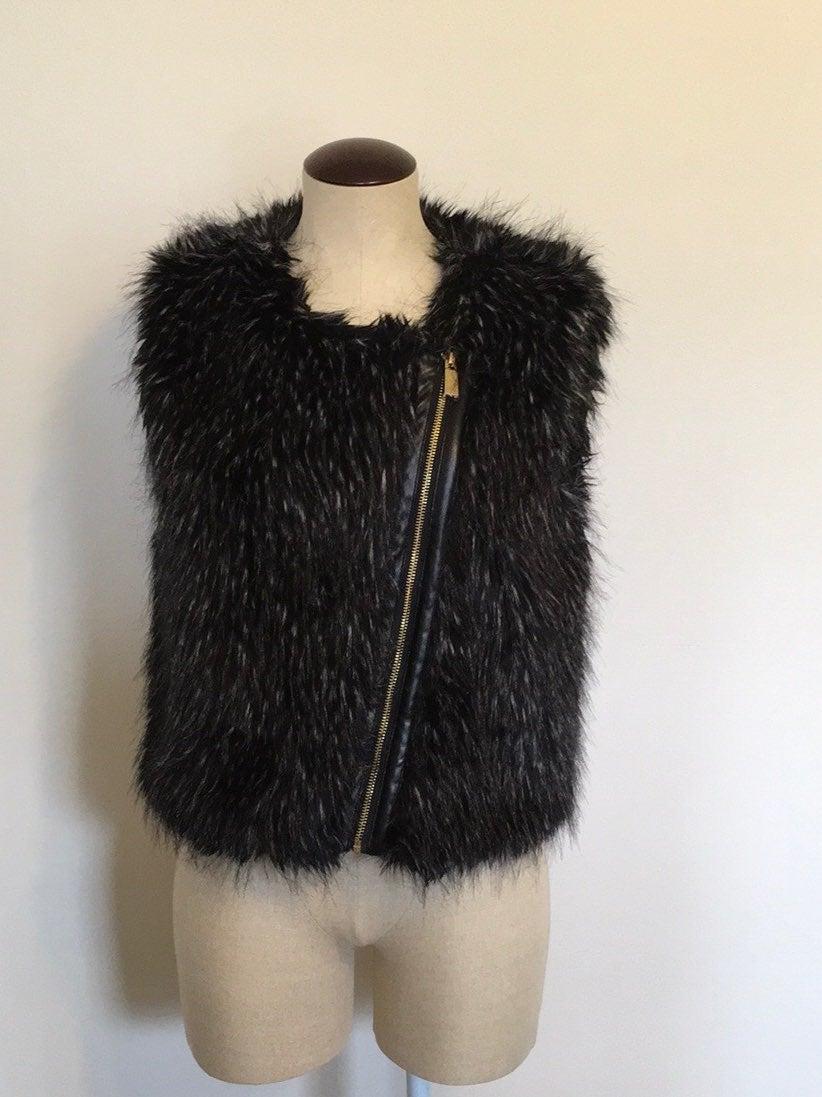 Vince Camuto Pop Culture Faux Fur Vest