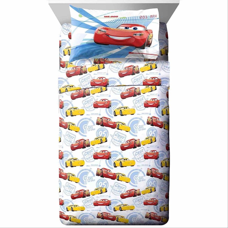 Disney Pixar Cars 3 Twin Sheets Set