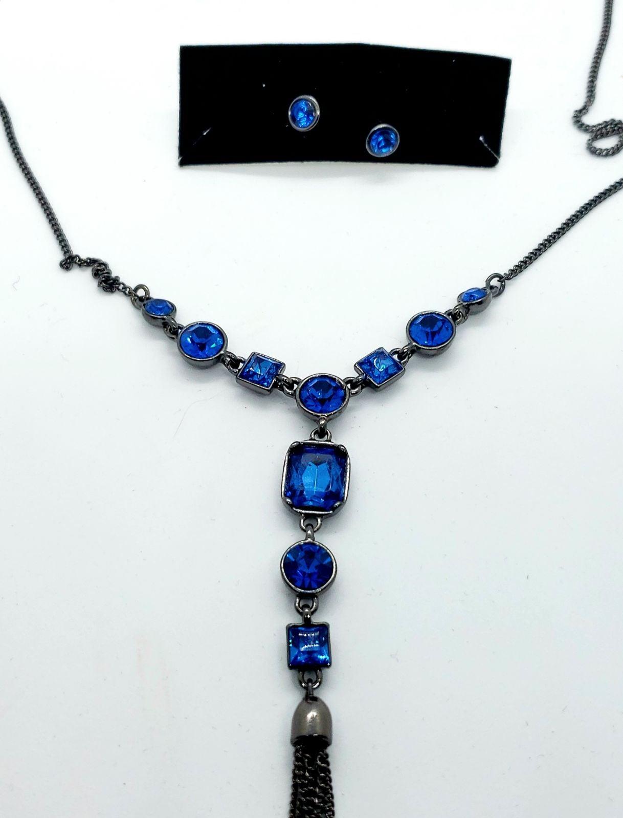 Vintage Choker/Collar Necklace&earrrings