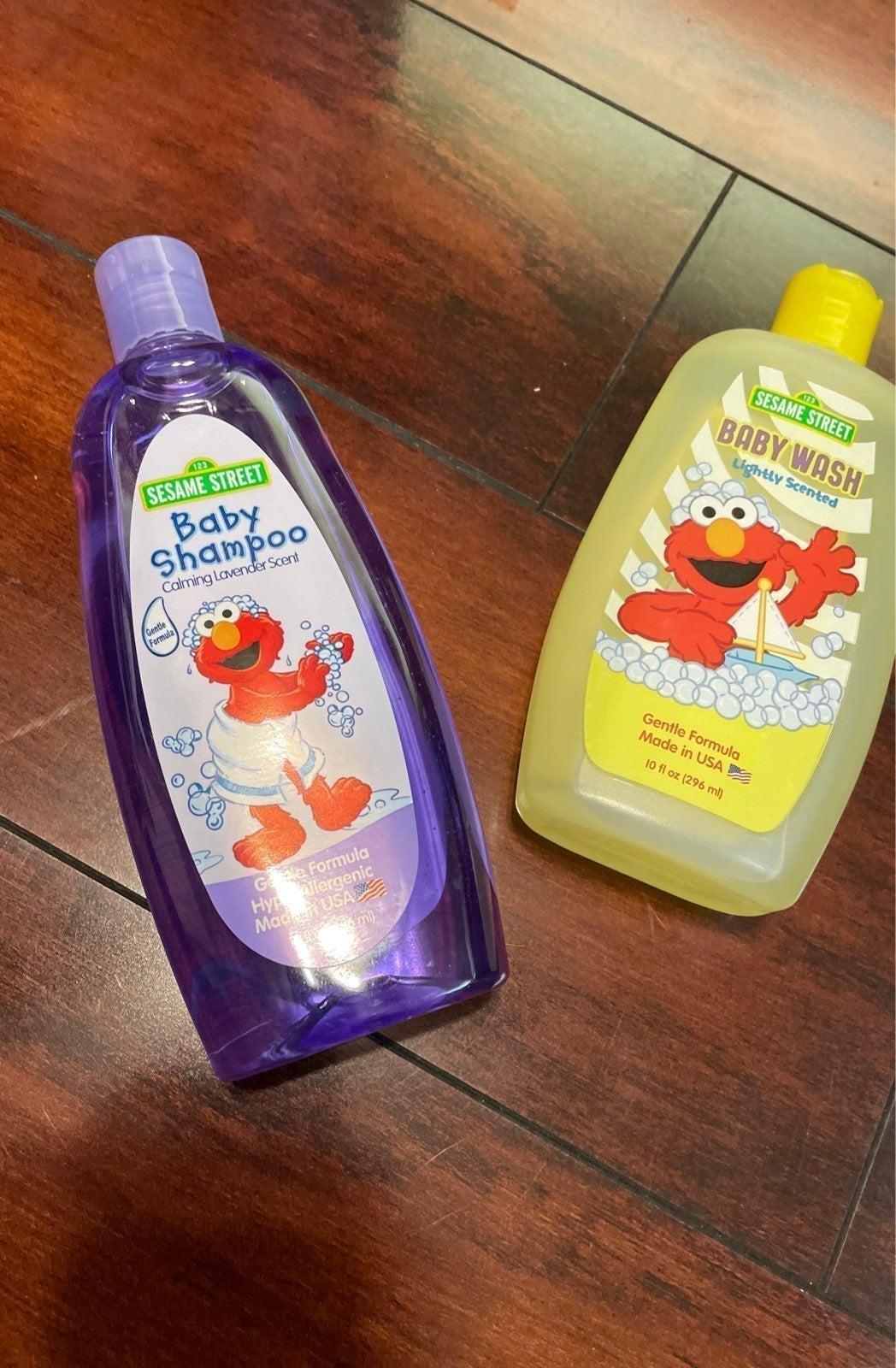 Baby shampoo and baby wash