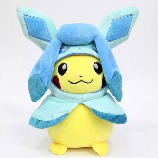 New Pokemon Pikachu 10in Poncho Hoodie