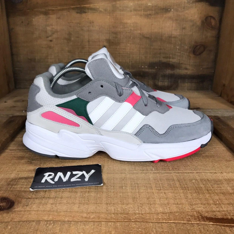 NEW Adidas Yung 96 Grey Active Pink