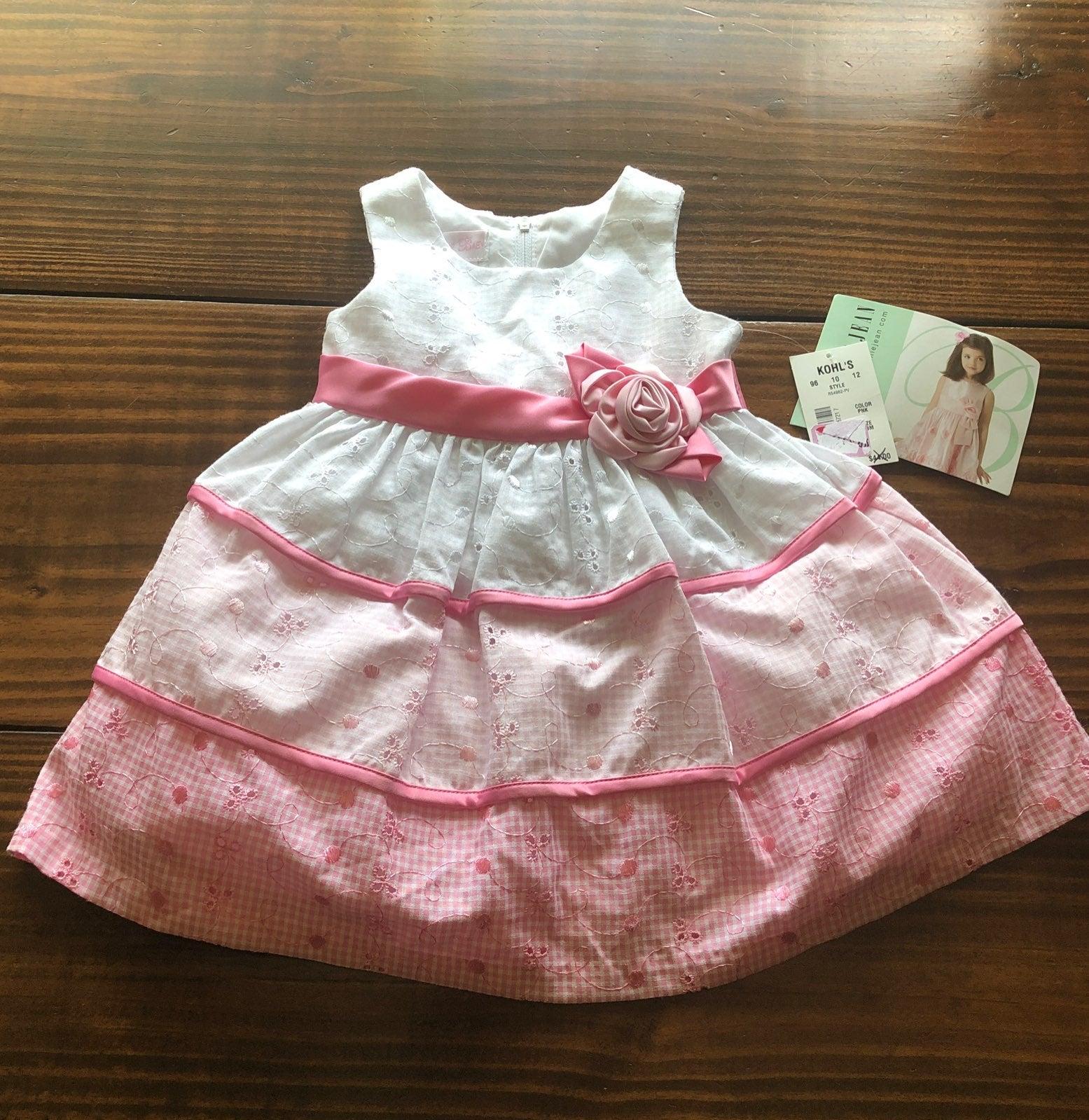 Bonnie Baby 18M Pink Formal Dress
