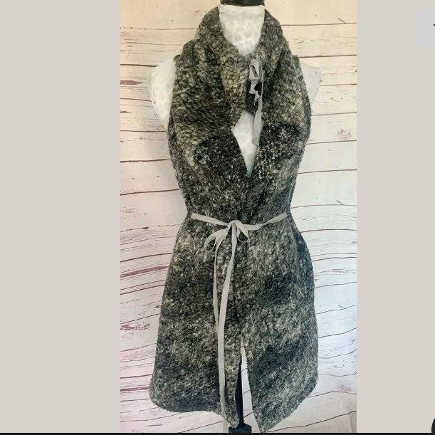 bryn WALKER Marbled Knit Sweater Vest