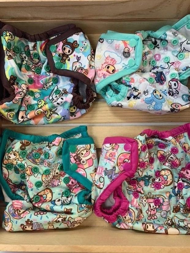 Tokidoki Diaper Covers