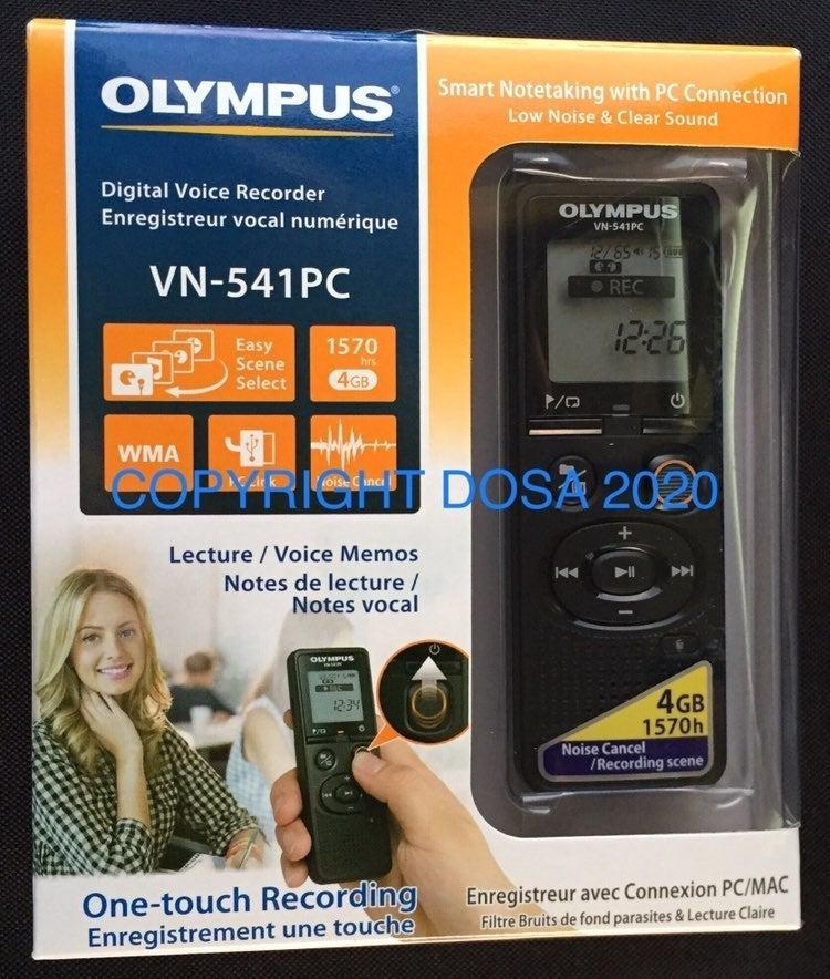 Olympus Digital Voice Recorder, VN-541PC