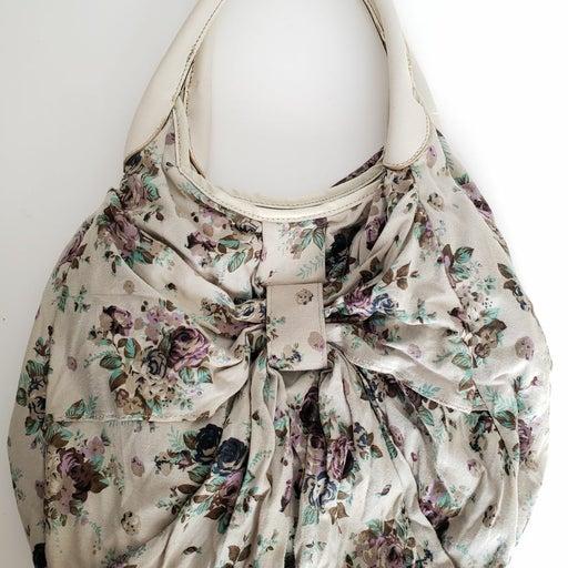 Candies Floral Shoulder Bag Pre Owned