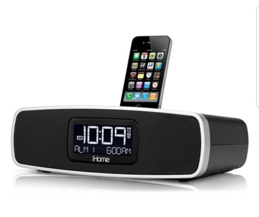 iHome iP90 ipod docking clock/radio