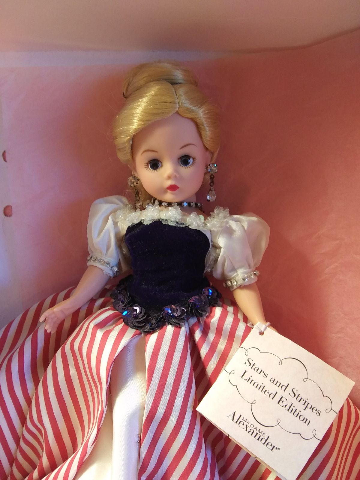 Madame Alexander Doll,  Stars and Strips