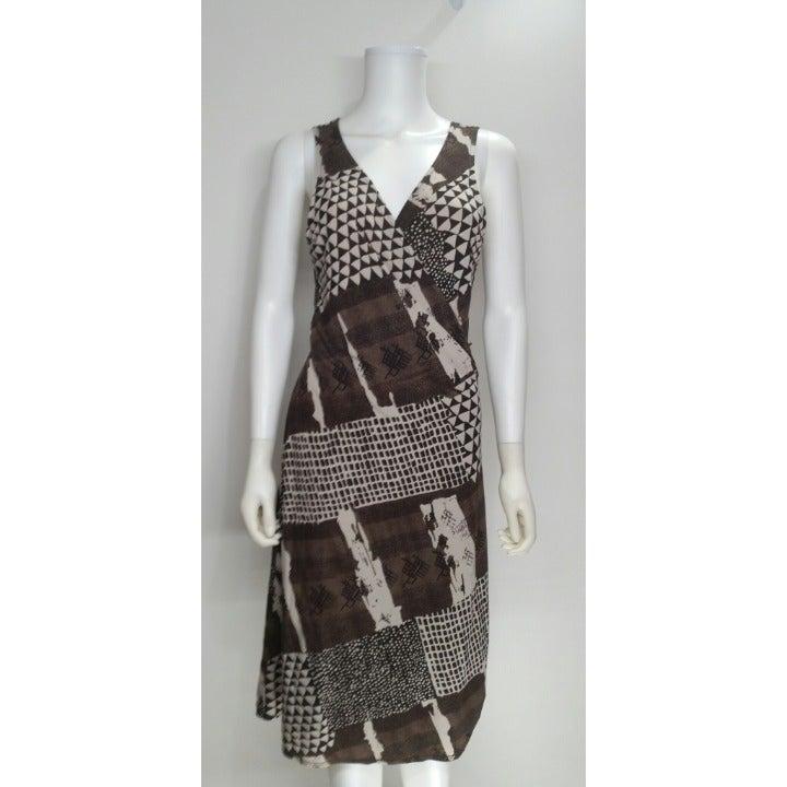 BCBG Maxazria Wrap Dress Size L