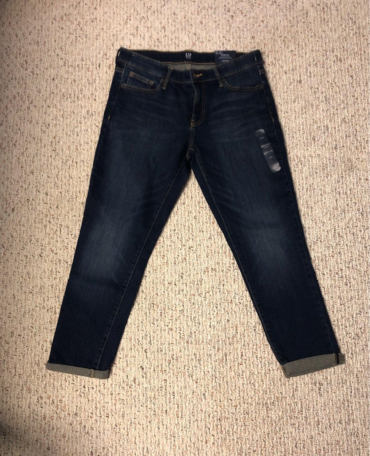 Womens Gap Girlfriend Jeans 8R