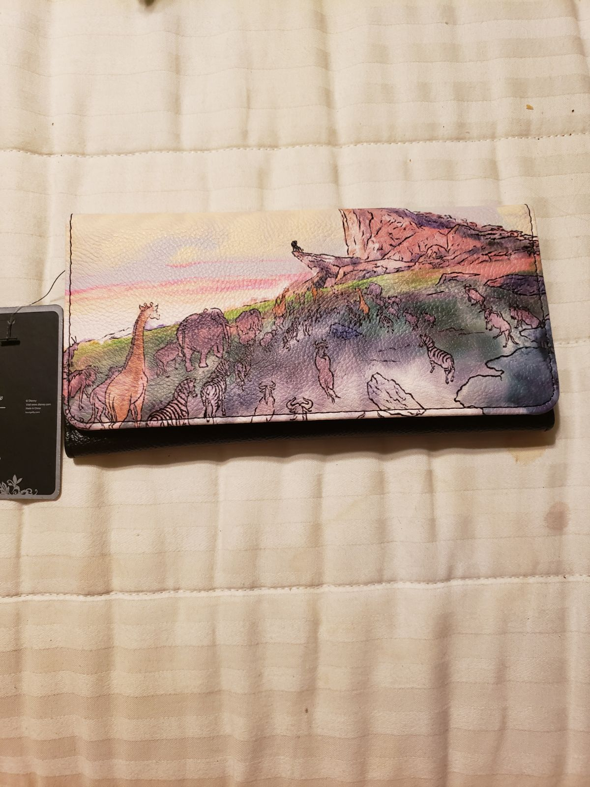 Loungefly Lion King Watercolor Wallet