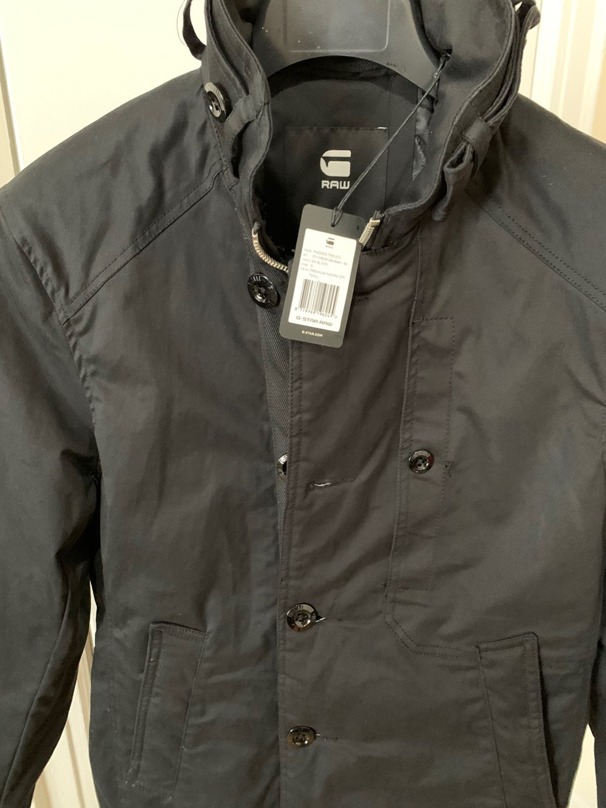 G star Raw mens Padded trench NEW