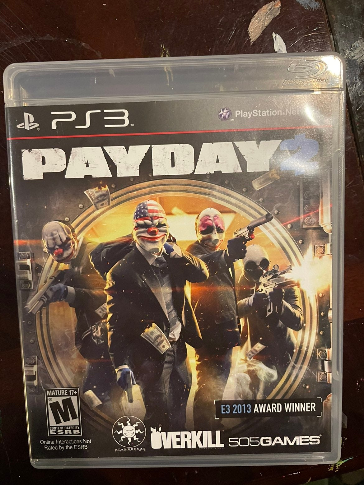 Payday 2 on Playstation 3