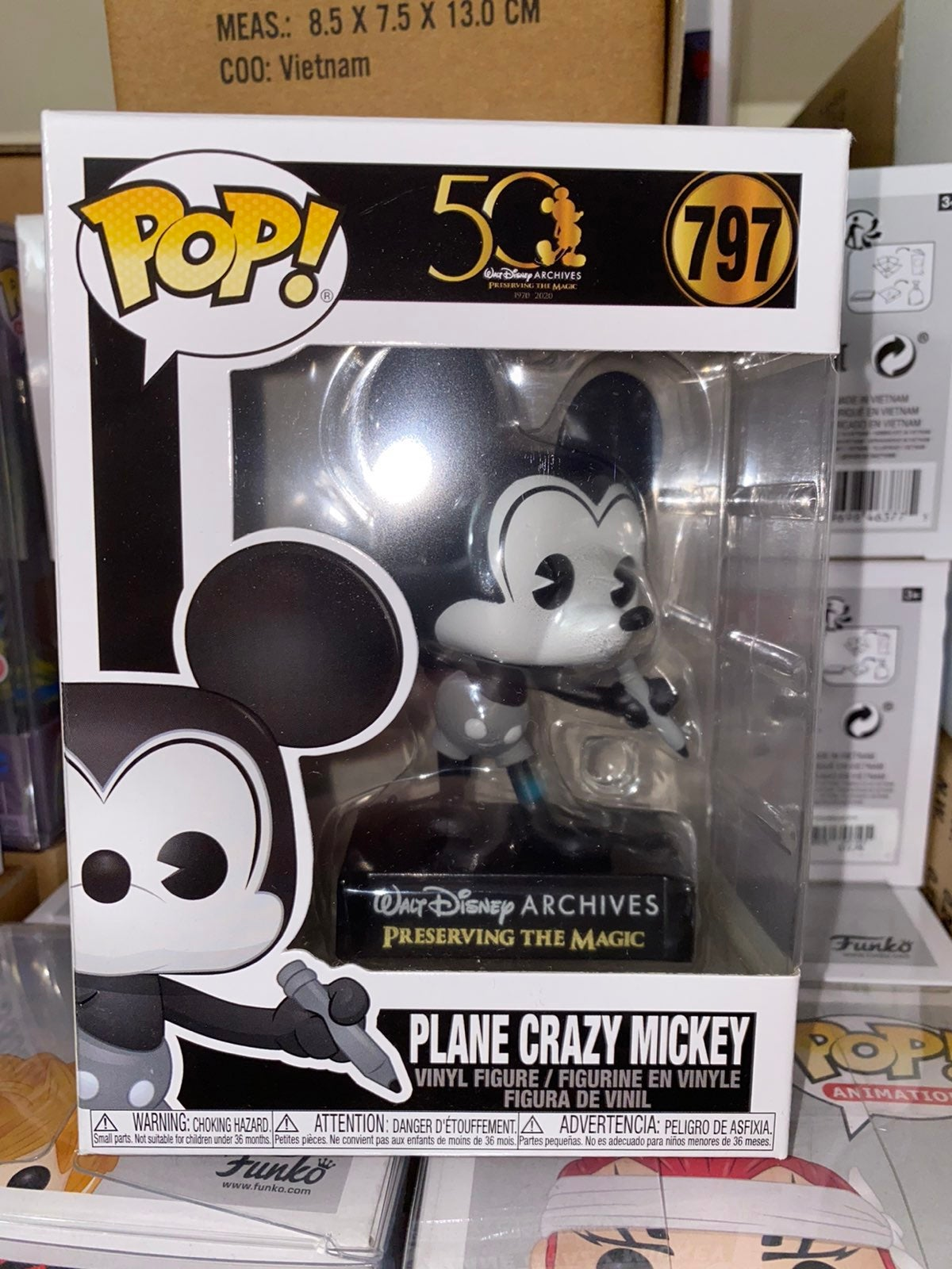 Disney Plane Crazy Mickey Funko Pop