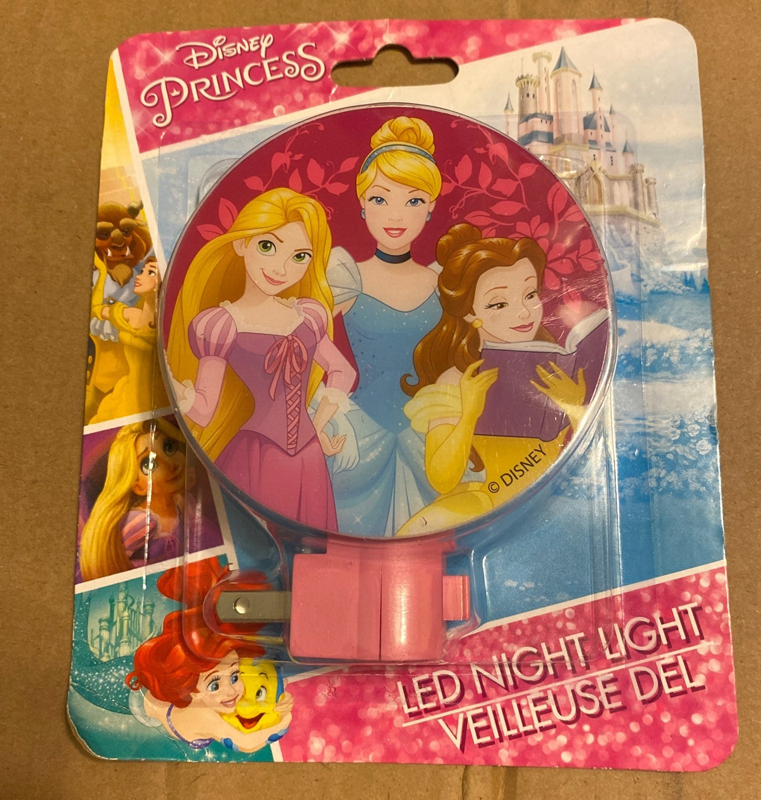 Disney Princess LED Night Light NEW