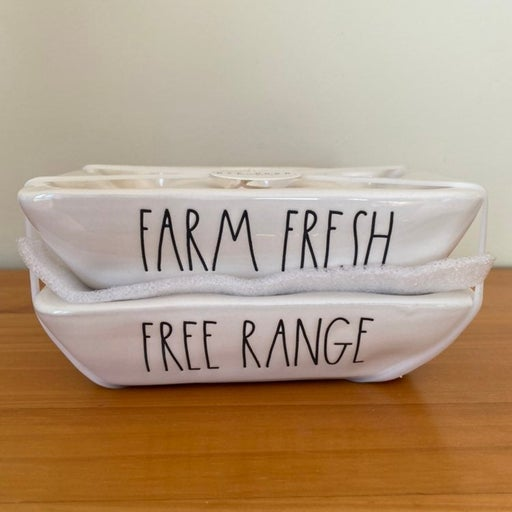 Rae Dunn FARM FRESH / FREE RANGE