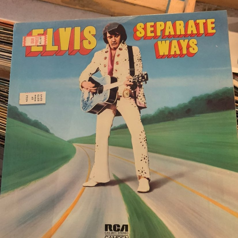 Elvis Presley - Elvis Separate ways lp
