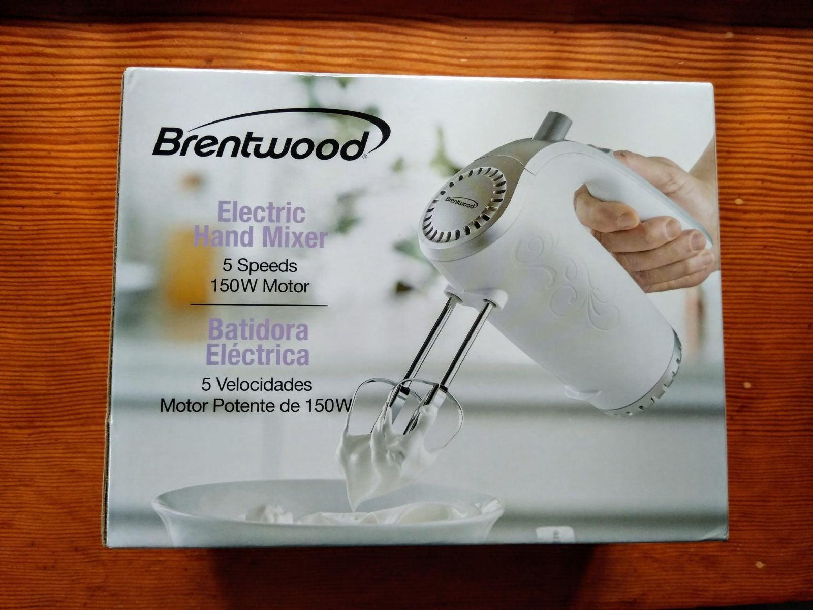 Brentwood 5-Speed Hand Mixer Baking