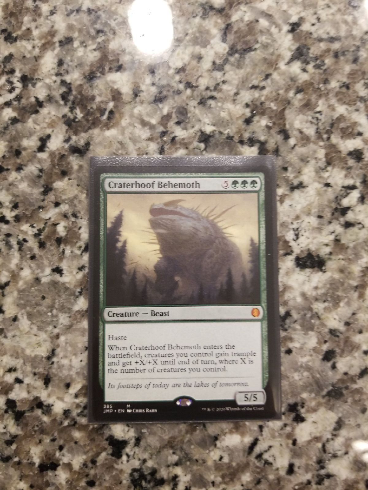 MTG Craterhoof Behemoth