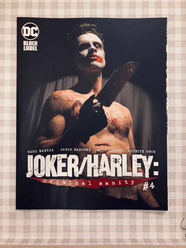 DC BLACK LABEL JOKER & HARLEY