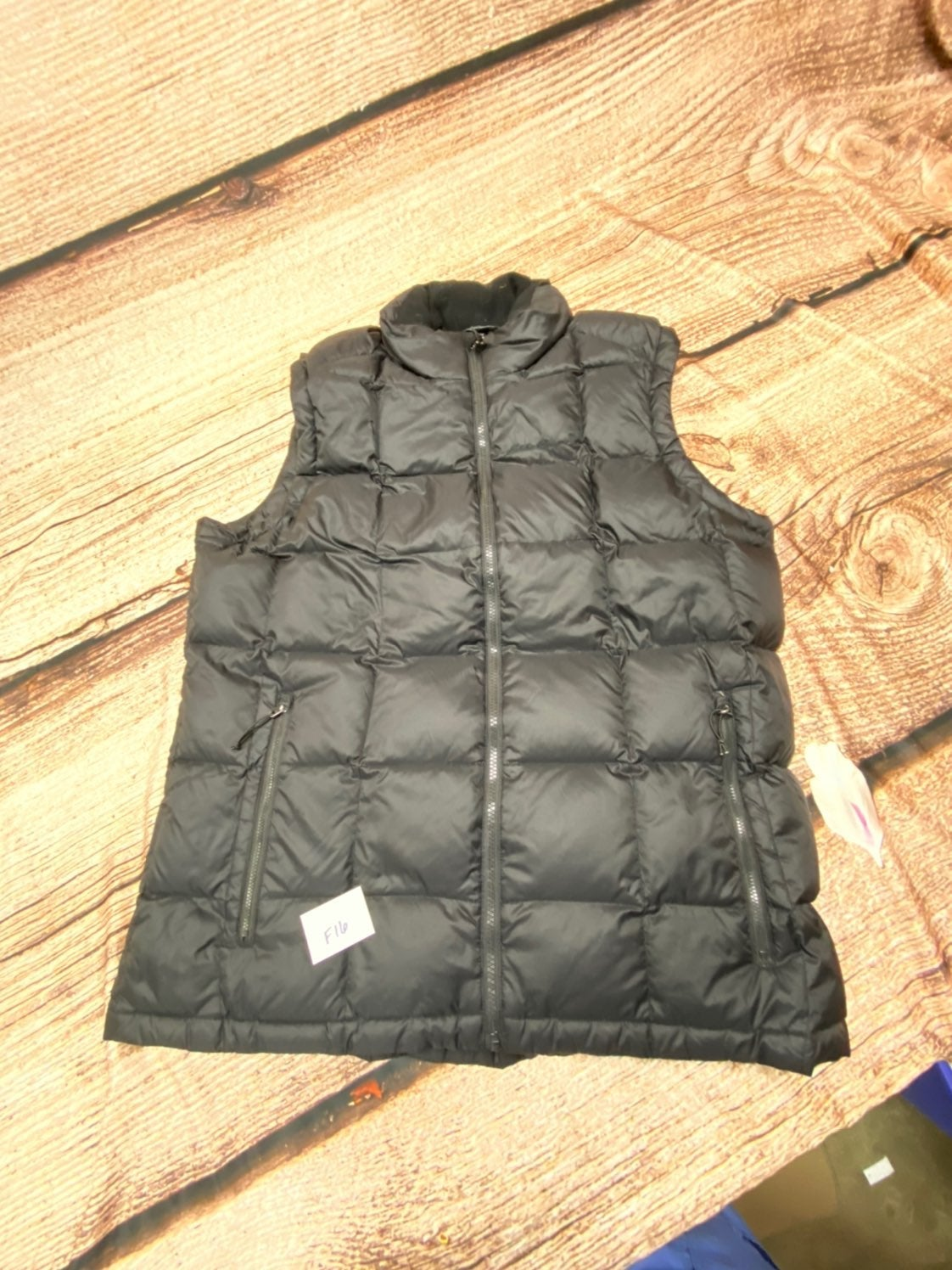 Puffer Vest F16 Tall goose down