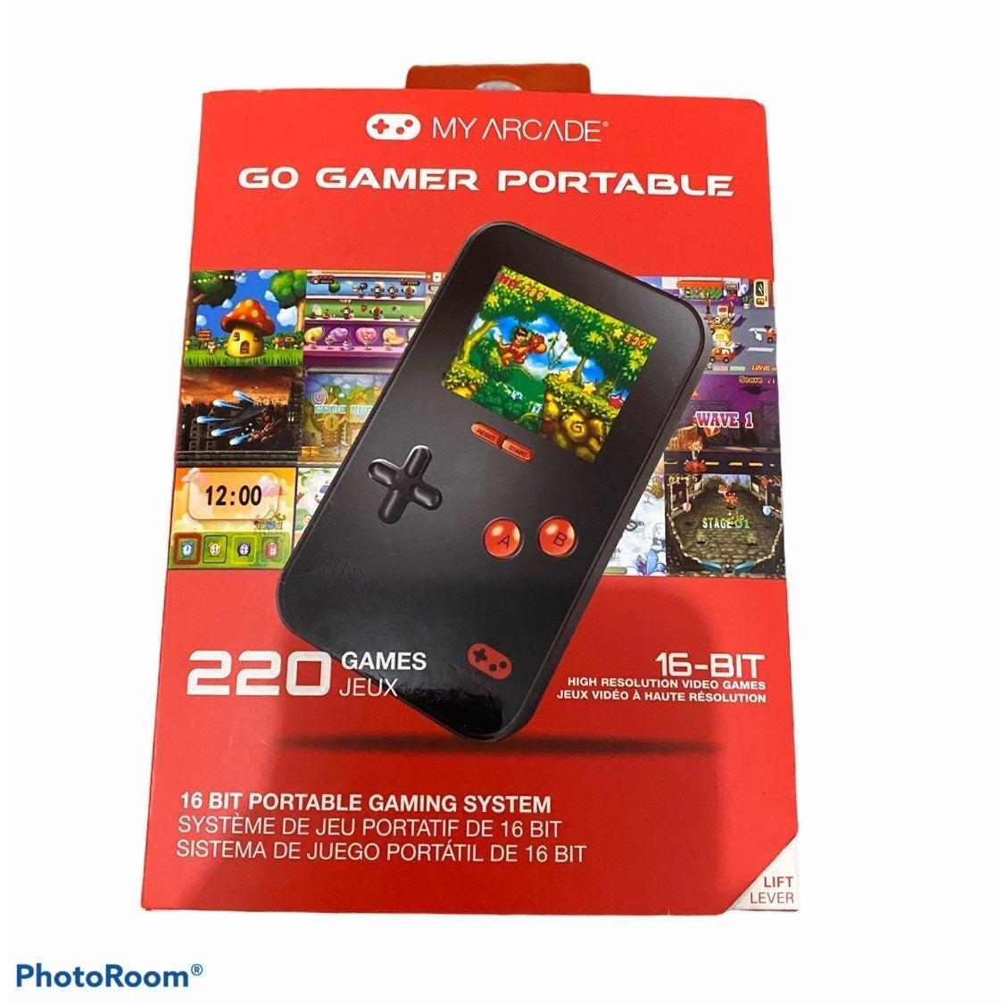Go Gamer Portable Gaming System 220 Game
