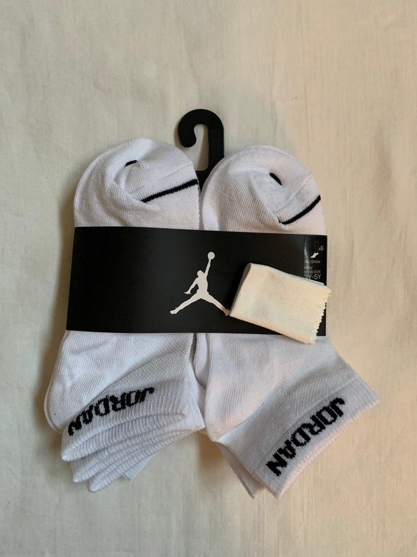 Jordan 6 Pack no show unisex kids socks