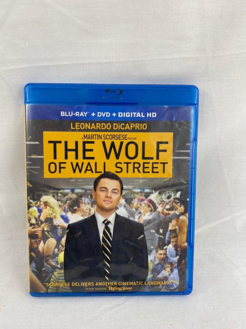 The Wolf of Wall Street BLU-RAY Martin S